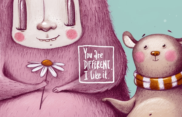 ilustrace | You Are Different